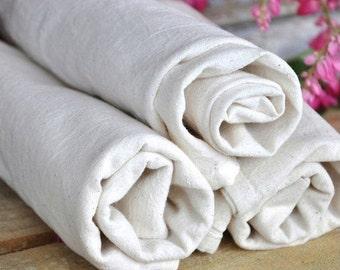 3 Blank Tea Towels to Embroider or Print. White Cotton Flour Sack Tea Towel Craft Supplies