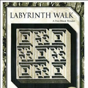 Labyrinth Walk Quilt Pattern Queen Size By The Guilty