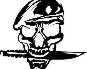 custom skull 2 pieces