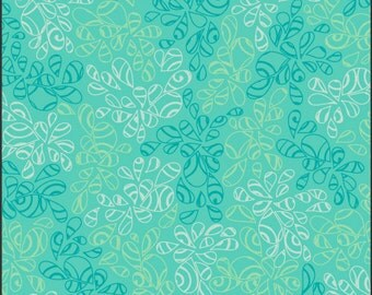 Nature Elements by Art Gallery Fabrics, Caribbean Blue, NE118