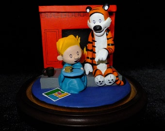 Calvin and Hobbes; nobody knows how to pamper like a mom.