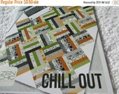 Pattern Sale Zen Chic Paper Pattern for Chill Out Quilt designed by Brigitte Heitland for Moda