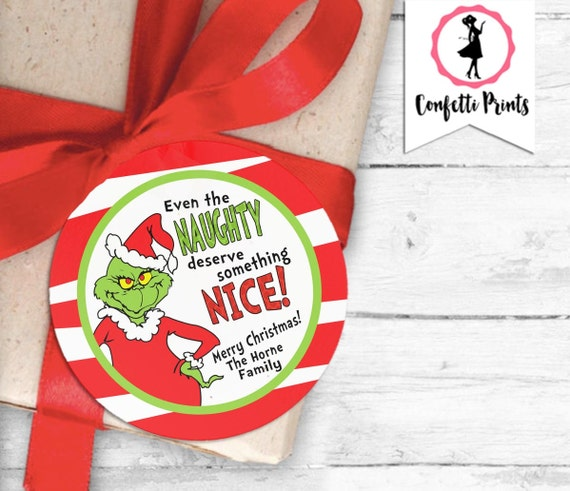 Giveaways For Christmas Party: Grinch Holiday Party