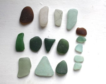 Scottish beach finds sea glass jewelry quality art&craft supplies jewelry supply  (328)