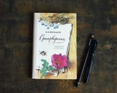 """Hardcover Notebook Tartuensis Classic """"Poetry"""" Upcycled Romantic Blank Book"""