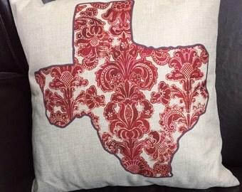 Pillow. Texas pillow. Throw pillow. Texas home pillow. decorative pillow. Sofa pillow cover.