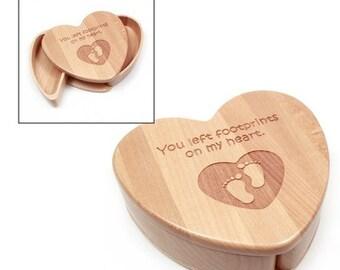 Keepsake Box Heart Shape Keepsake Box Memory Box Wooden Memory Box Wooden Keesake Box Trinket Box Jewelry Box Wooden Jewelry Box Keepsake