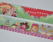 1 Roll of Limited Edition Washi Tape: Alice in Wonderland's tea party