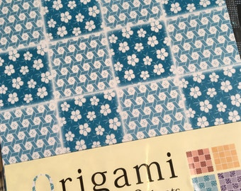 A Set of 36 Sheets FANCY  Japanese Yuzen Chiyogami Origami Papers