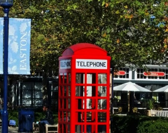 Telephone Booth (FREE shipping in the U.S.only)