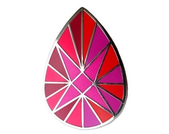 Gemstone enamel pin - ON SALE