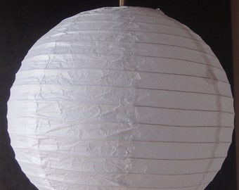 White Paper Lanterns (Set of 5),  Party Decorations, Wedding Decorations, Baby Shower Decor, Bridal Shower decoration
