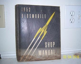 1953 Oldsmobile Shop Manual Auto Repair Manual Book