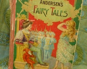 OLD-Andersons Fairy Tales Book-Great for Altered /Collage Projects