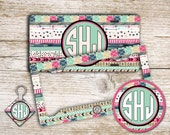 16th birthday gift for girls, Tribal monogram license plate or frame Car window decal or keychain Personalized bike tag Aztec car tag (1381)