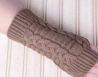 Knit Handwarmers/Fingerless Gloves