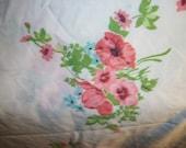 Reserved Pink Rose Full Flat Sheet
