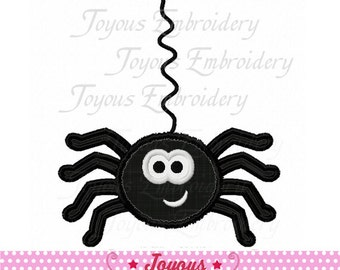 Instant Download Halloween Girl Spider Applique Embroidery Design NO:1822
