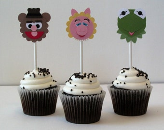 The Muppets Cupcake Toppers (Set of 12)