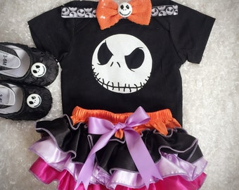 Nightmare Before Christmas/ Jack Skellington costume/First Halloween/Baby Jack/Baby Halloween /Pageant