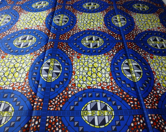 African Fabrics Super Wax Print Fabrics For Sewing, Fabrics For Dress Making Kitenge/Pagnes/Ankara /ChitengeSold By The Yard 162137256330