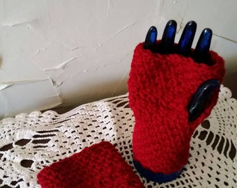 Fingerless gloves / Texting mitt by Haylies Handiwork