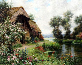 La Vielle by Louis Aston Knight - a 225 piece Wooden Jigsaw Puzzle from BCB Puzzles