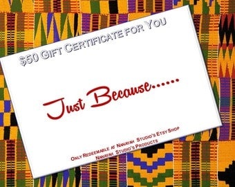 Gift Certificate. Gifts. Birthday Gifts. Presents. Birthday Present.