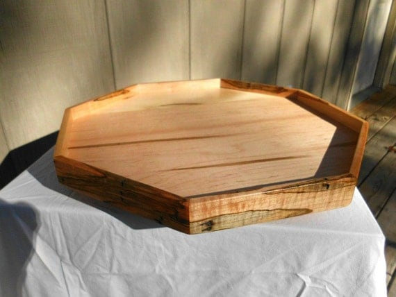 Rustic Lazy Susan Reclaimed Wood Lazy Susan Spice Tray