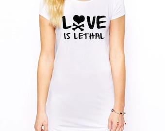 Lethal T-shirt Dress