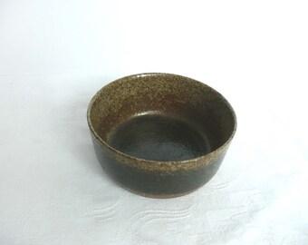 Vintage Palshus bowl - vintage Danish pottery - Danish stoneware bowl - hand made pottery bowl - mid century Danish pottery bowl