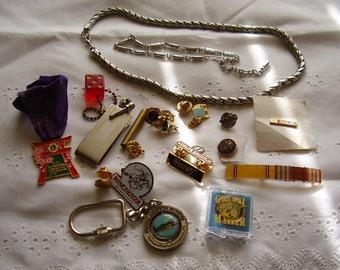 SALE! Vintage DESTASH ODD Lot/Jewelry, etc.