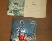 Christmas Greeting Card 1958 NEW Christian Jesus Christ with envelope booklet