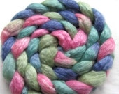 Merino/Tencel Roving (Combed Top) 4 oz. Hand Painted