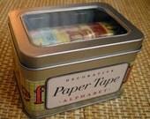 """Cavallini Decorative Paper Tape """"Alphabet"""""""