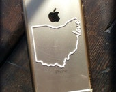 LOVE or HOME State of Ohio outline decal