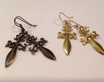 Pirate Blade Earrings