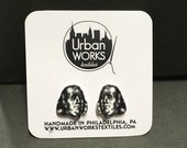 Benjamin Franklin Stud Earrings - Philly Earrings - Old Philadelphia -Philly Jewelry