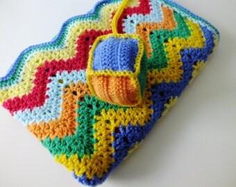 Crochet Baby Blanket//Photo Prop//Baby Shower//Handmade Blanket//Colorful Blanket//Photography//Blankets&Throws