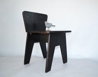 Mid Century Modern Child's Chair | Vintage Modern Style Chair | Modern Nursery Decor | Childs Chair | Modern Folk Art