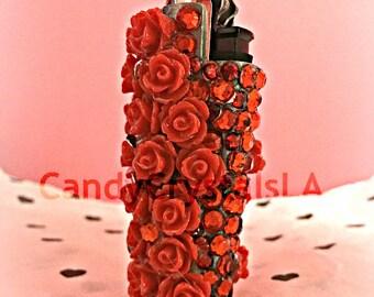 Red Crystals Lighter
