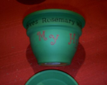 My Herb Garden pot