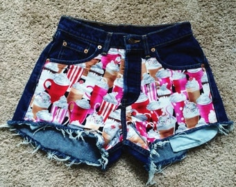 FLASH SALE! One of a kind Milshake! 26/27 High Waist Levi Shorts