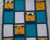 Beautiful Minions blanket for children