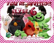 custom made invitation (Favorite Movie, tv show, game etc)