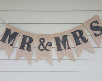 Mr&mrs banner.
