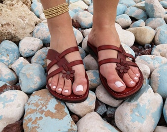Leather Sandals, Leather Sandals Women, Sandals, Women's Shoes, NARCISSUSS, Flip Flops, Biblical Sandals, Jesus Sandals