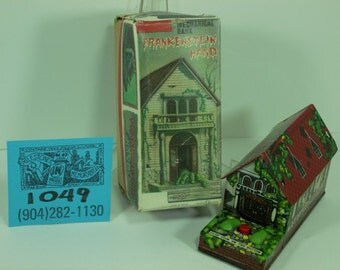 1960's TN (Normura) Frankenstein's Hand Mystery Bank and Box