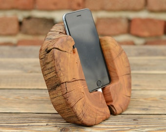 Men Gift, iPhone 6 Dock Station, Wood iPhone 7 Docking Station, Tech Accessory, Boyfriend Gift, Samsung Galaxy S6 and S7 Dock, Wood Charger