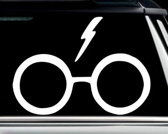 HP Glasses Decal